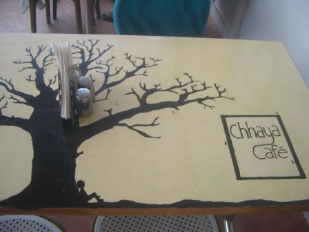 Table Chhaya Cafe