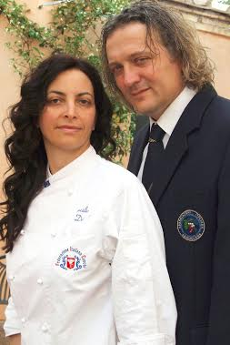 La Gramola Couple Chef Cecilia Dei and Sommelier Massimo Marzi Source: www.gramola.it